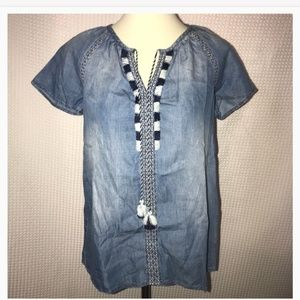 Vintage America Blues top
